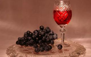Наливка из винограда в домашних условиях — 4 простых рецепта