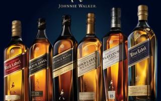 Выбираем виски Джонни Уокер (Johnnie Walker) — самый популярный скотч в мире