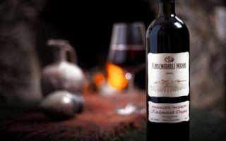Вино «Киндзмараули» — гордость Грузии