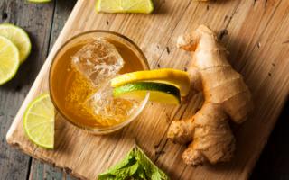 Освежающий имбирный эль — особенности и лучшие рецепты приготовления