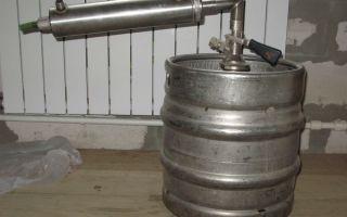 Подробная инструкция, как сделать самогонный аппарат из пивной кеги своими руками