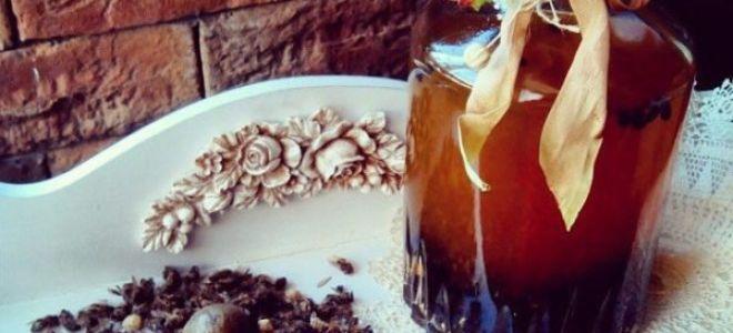 Настойка из пчелиного подмора на спирту, водке и самогоне