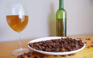 Вино из изюма в домашних условиях — 2 простых рецепта приготовления
