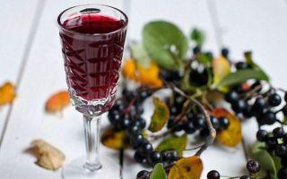 5 лучших рецептов настойки из черноплодной рябины на водке