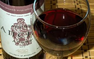 Красное вино Апсны — жемчужина Абхазии