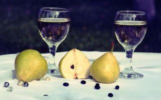 Вино из груш в домашних условиях — простой рецепт приготовления