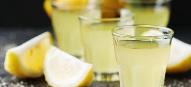Делаем лимонную настойку на водке, самогоне и спирту