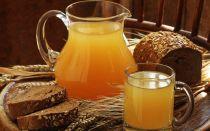 Как приготовить домашний хлебный квас на 3 литра?