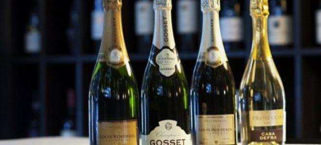 Самые известные виды шампанского