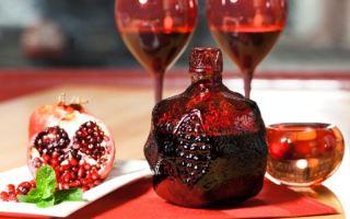 Гранатовое вино — лучшие производители и марки, полезные свойства напитка