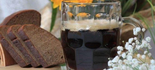 Готовим квас из черного ржаного хлеба в домашних условиях