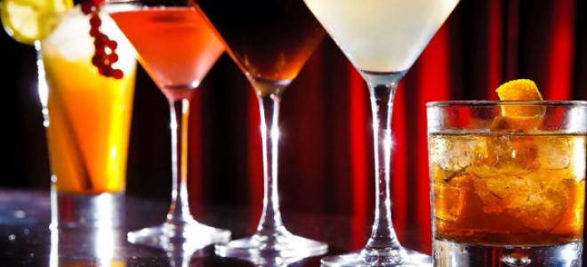 Коктейли с вином (с красным, белым, розовым)