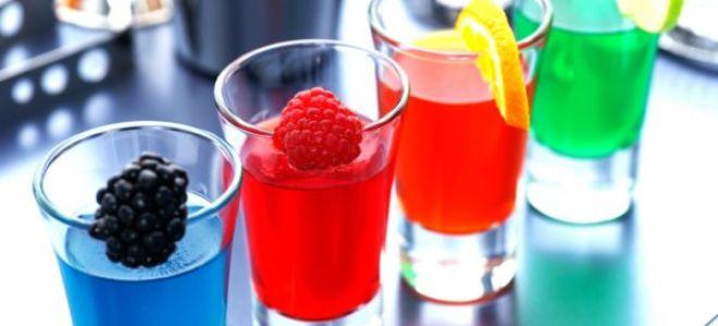 ТОП-3 рецептов алкогольного желе с водкой и другими напитками