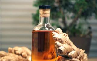 Целебная настойка из имбиря на самогоне — 3 правильных рецепта приготовления