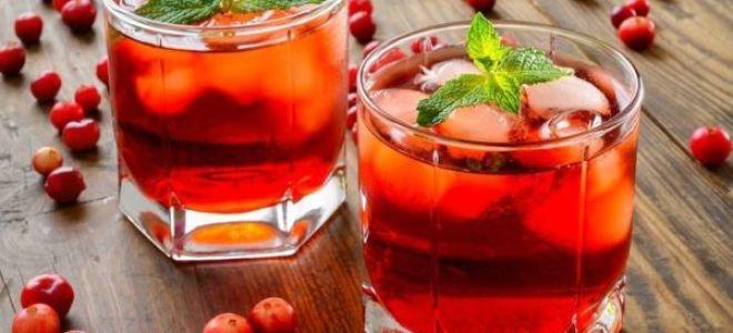 Рецепт настойки на самогоне и клюкве: полезный алкогольный морс
