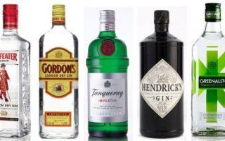 Джин — история появления напитка