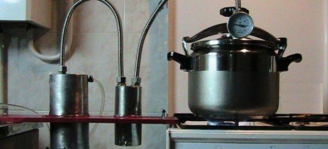 Делаем простой самогонный аппарат из скороварки своими руками