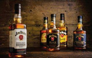Американский виски «Джим Бим» (Jim Beam) — пожалуй лучший бурбон во всем мире