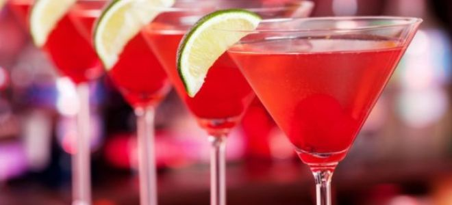 3 рецепта коктейля
