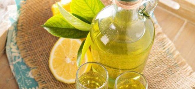 Целебная настойка на лимоне