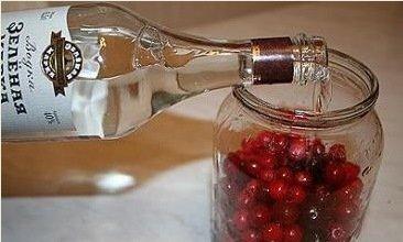 Как сделать настойку на спирту из вишни