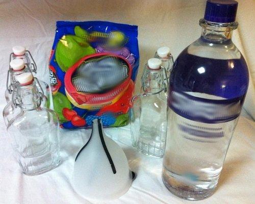водка из спирта и воды