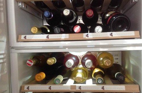 храним вино в холодильнике