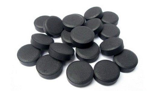 активированный уголь в таблетка