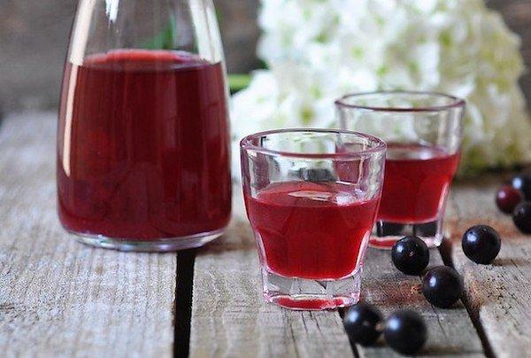 простой рецепт вина из черной смородины