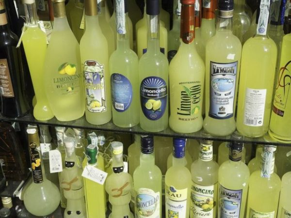 ликер лимончелло разные виды