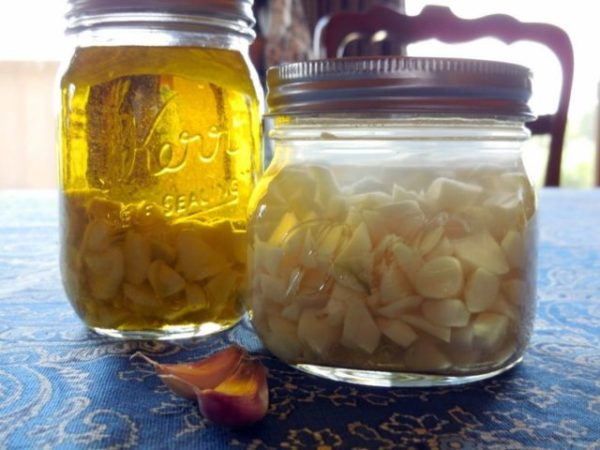 Настойка чеснок с лимоном на воде