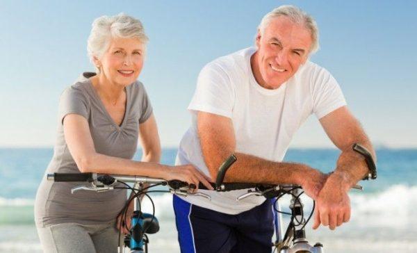 здоровая пенсионная пара