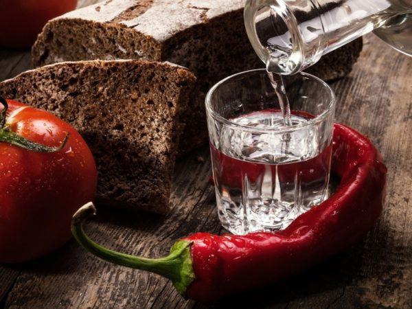 Как натирать водкой при температуре взрослого